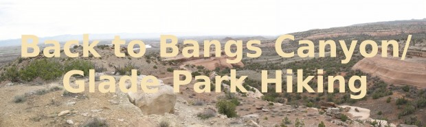 Click Here to go Back to Bangs Canyon/Glade Park
