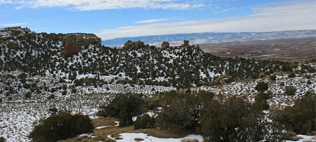 Palisade Rim Trail – Lower Section